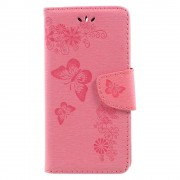 Huawei Y6 2017 cover med mønster pink Mobilcovers
