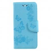 Huawei Y6 2017 cover med mønster blå Mobilcovers