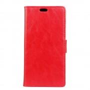 Huawei Y3 2017 rød flip cover med lommer Mobilcovers