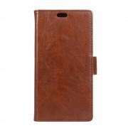 til Huawei Y3 2017 flip cover med lommer brun Mobilcovers