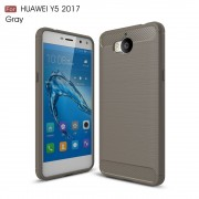 C-style armor cover Huawei Y6 2017 grå Mobilcovers