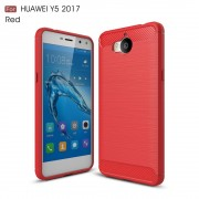 C-style armor cover rød Huawei Y6 2017 Mobilcovers