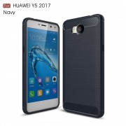 C-style armor cover blå Huawei Y6 2017 Mobilcovers