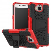 Mark II cover rød Huawei Y6 2017 Mobilcovers