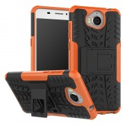 Mark II cover orange Huawei Y6 2017 Mobilcovers