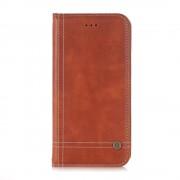 Sting line brun cover til Huawei P10 med lommer Mobilcovers
