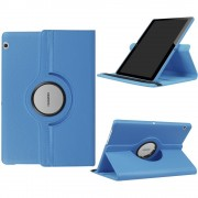 til Huawei T3 10 cover rotation med stå funktion lyseblå Tablet tilbehør