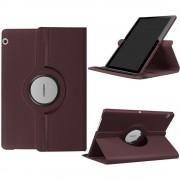 Huawei T3 10 cover rotation med stå funktion brun Tablet tilbehør