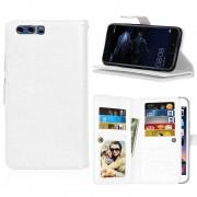 Huawei P10 cover med multi lommer hvid Mobilcovers