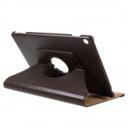 Mediapad M3 lite 10 cover med rotation brun Tabletcovers