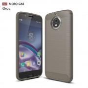 Motorola Moto G5S cover armor carbon grå Mobilcovers