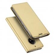 Motorola Moto G5S slim cover med kort lomme guld Mobilcovers