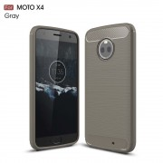 C-style armor cover grå Motorola moto x4 Mobilcovers