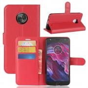 Vilo flipcover rød Motorola Moto X4 Mobilcovers