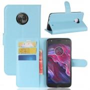 Vilo flipcover blå Motorola Moto X4 Mobilcovers