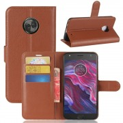 Vilo flipcover brun Motorola Moto X4 Mobilcovers