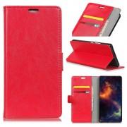 rød Igo flip cover Motorola E5 Play Mobil tilbehør