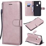 Motorola One rosaguld Etui med lommer Mobil tilbehør