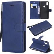 Motorola One blå Etui med lommer Mobil tilbehør