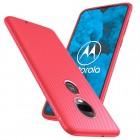 rød Venon blød tpu case Motorola Moto G7 / G7 plus Mobil tilbehør