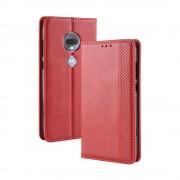 rød Vintage cover Motorola Moto G7 / G7 plus Mobil tilbehør