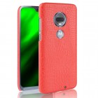 rød Case croco Motorola Moto G7 / G7 plus Mobil tilbehør