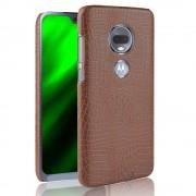 brun Case croco Motorola Moto G7 / G7 plus Mobil tilbehør