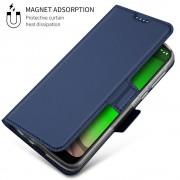 blå S-line slim flip cover Motorola G7 Play Mobil tilbehør