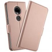 rosaguld S-line flip cover Motorola Moto G7 / G7 plus Mobil tilbehør