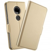 guld S-line flip cover Motorola Moto G7 / G7 plus Mobil tilbehør