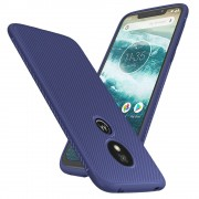 blå Venon blød tpu case Moto G7 play Mobil tilbehør