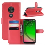 rød Igo flip cover Motorola G7 Play Motorola Moto G7 play covers