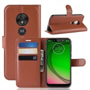 brun Igo flip cover Motorola G7 Play Motorola Moto G7 play covers