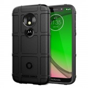 Rugged shield case Moto G7 Play sort Mobil tilbehør