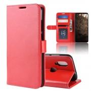 rød Vilo flip cover Motorola One Vision Mobil tilbehør