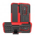 rød Mark II case Motorola G7 Play Mobil tilbehør