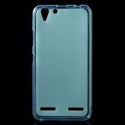 LENOVO K5  cover i mat tpu blå Leveso Mobil tilbehør