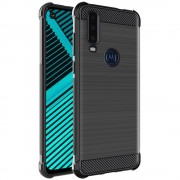 Vega tpu carbon case Motorola One Action Mobil tilbehør