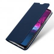 blå Slim flip etui Motorola One Action Mobil tilbehør