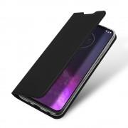 sort Slim flip etui Motorola One Zoom Mobil tilbehør