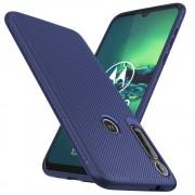 blå Venon blød tpu cover Motorola G8 Plus Mobil tilbehør