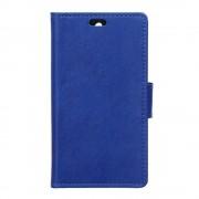 LENOVO K5 cover etui pung  blå Leveso Mobil tilbehør