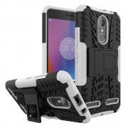 Lenovo K6 cover hybrid hvid Mobiltelefon tilbehør