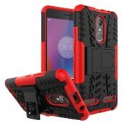 Til Lenovo K6 rød cover hybrid Mobiltelefon tilbehør