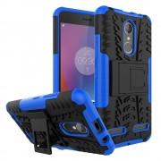 Til Lenovo K6 blå cover hybrid Leveso.dk Mobiltelefon tilbehør