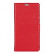 Lenovo K6 Note rød omslag cover etui omslag med lommer Lenovo K6 Mobil tilbehør Leveso.dk