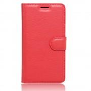 Til Lenovo B rød etui med lommer Mobiltelefon tilbehør