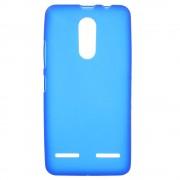 Lenovo K6 bagcover mat blå tpu Mobiltelefon tilbehør
