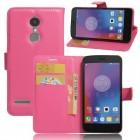 Til Lenovo K6 etui pung cover rosa Mobiltelefon tilbehør