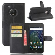 Klassisk flip cover til Motorola Moto G5 plus Mobil tilbehør